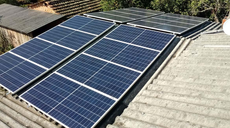 Instalação de 5.36 kWp