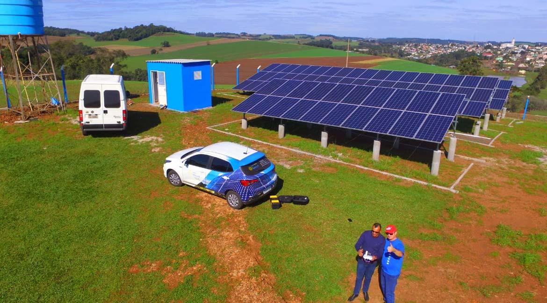 Instalação de 43.52 kWp