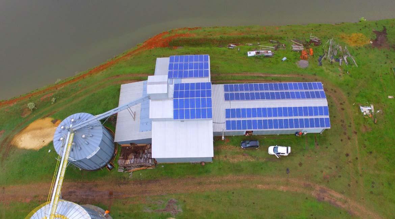 Instalação de 43.56 kWp