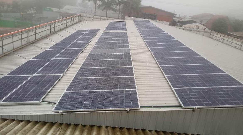 Instalação de 19.72 kWp