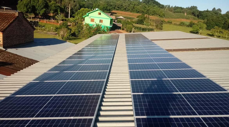 Instalação de 16.80 kWp