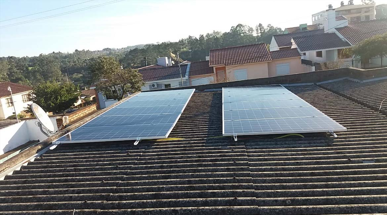 Instalação de 4.08 kWp