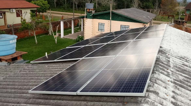 Instalação de 4.69 kWp