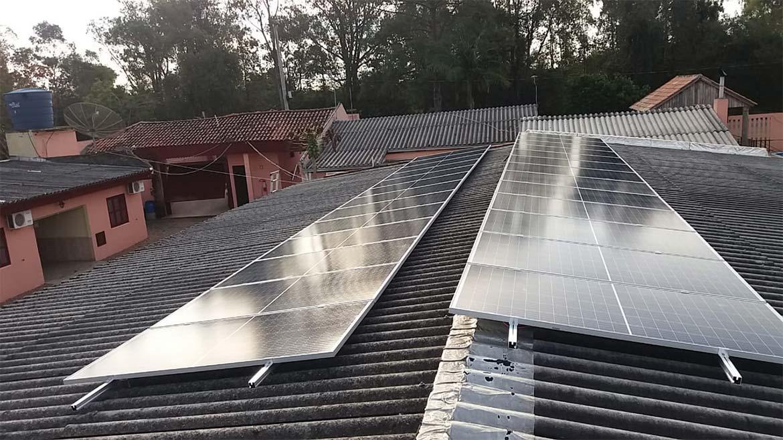 Instalação de 8.71 kWp